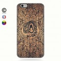 Coque iphone 6-6s tribal tiki bamboo