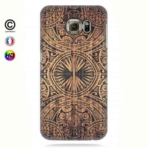Coque galaxy s7 edge tribal bamboo