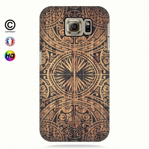 Coque galaxy s6 tribal bamboo