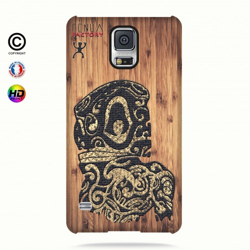 Coque galaxy s5 tribal bamboo tiki