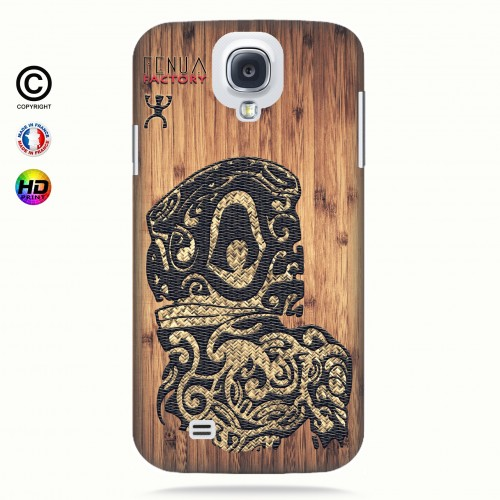 Coque galaxy s4 tribal bamboo tiki