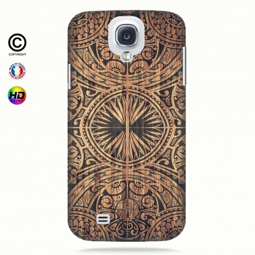 Coque galaxy s4 tribal bamboo