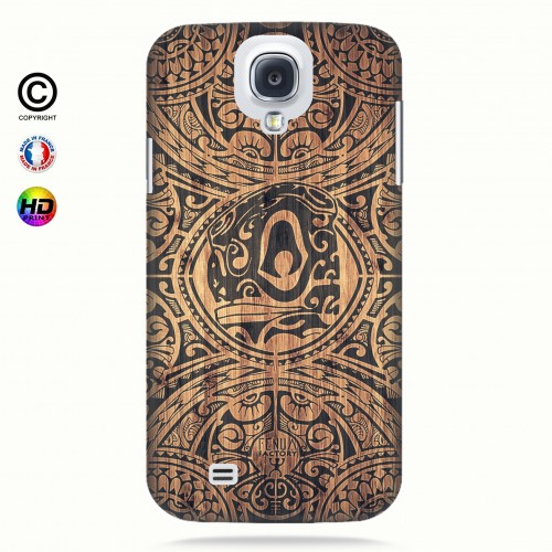 Coque galaxy s4 tribal tiki bamboo