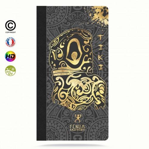 Etui Porte cartes galaxy S4 Tiki Gold