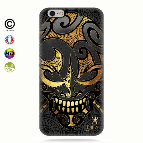 coque iphone 6+/6S+ Big Gold Skulls