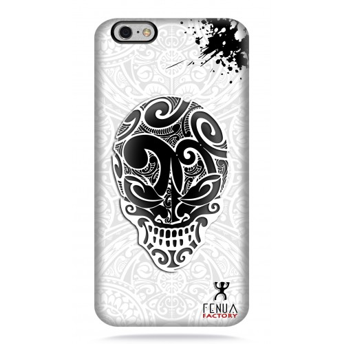 coque iphone 6-6s B&W Skulls