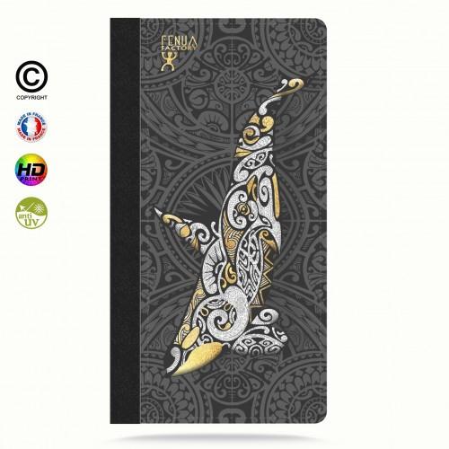 Etui Porte cartes galaxy S6 Orque Gold