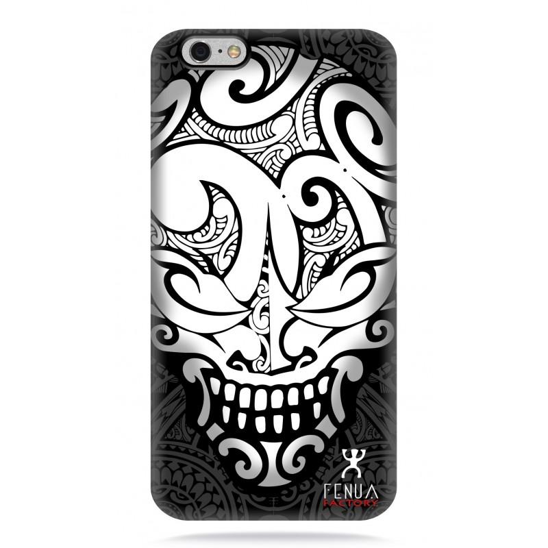 coque iphone 6-6s Big B&W Skulls