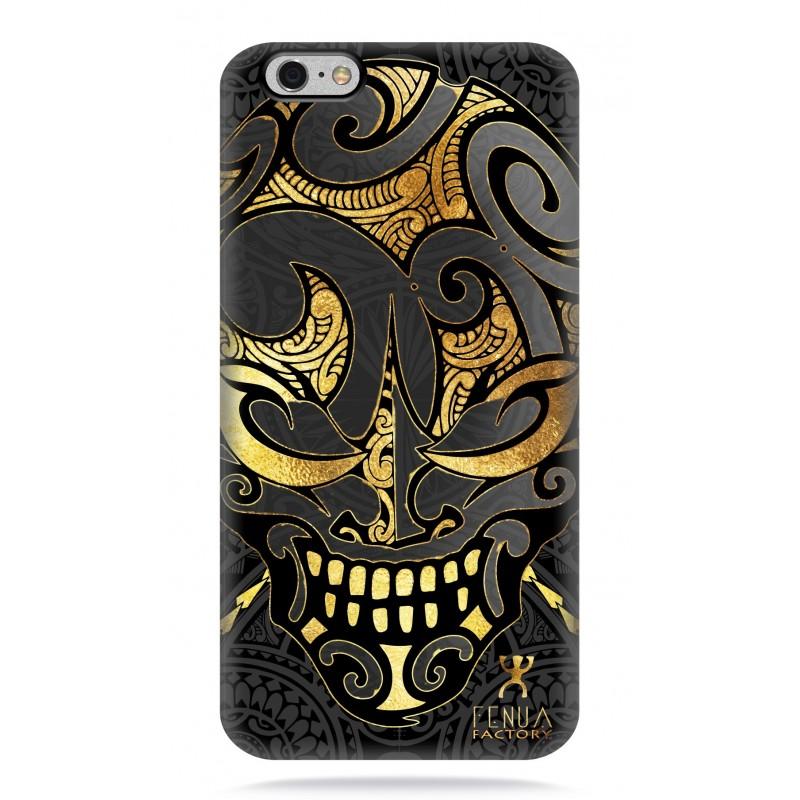 coque iphone 6-6s Big Gold Skulls