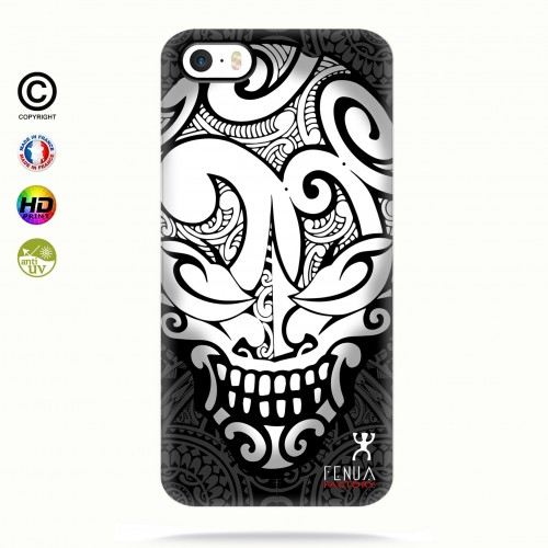 coque iphone 5-5s-5se Big B&W Skulls