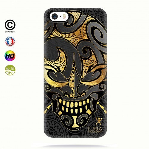 coque iphone 5-5s-5se Big Gold Skulls