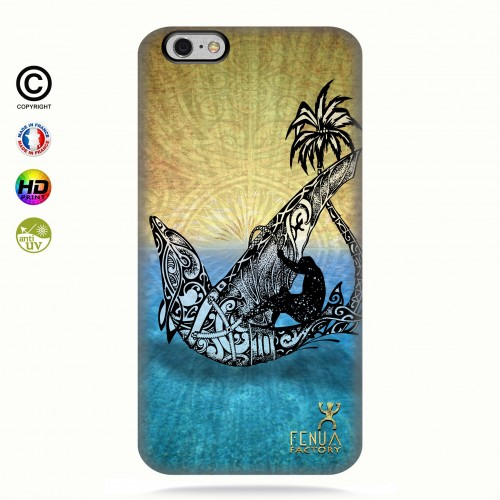 coque iphone 6+/6s+ Dolphin Sailboard