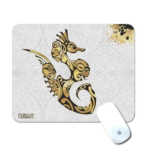 Tapis de Souris Hippocampe Gold