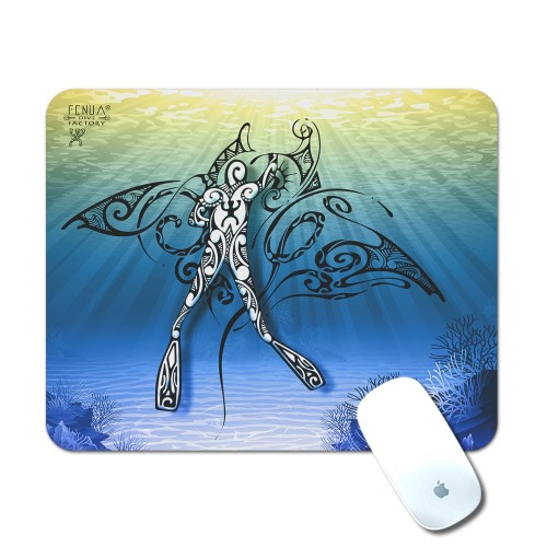 Tapis de Souris Diving Under the Sea