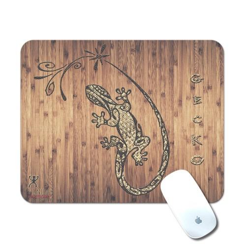Tapis de Souris Tribal bamboo Gecko