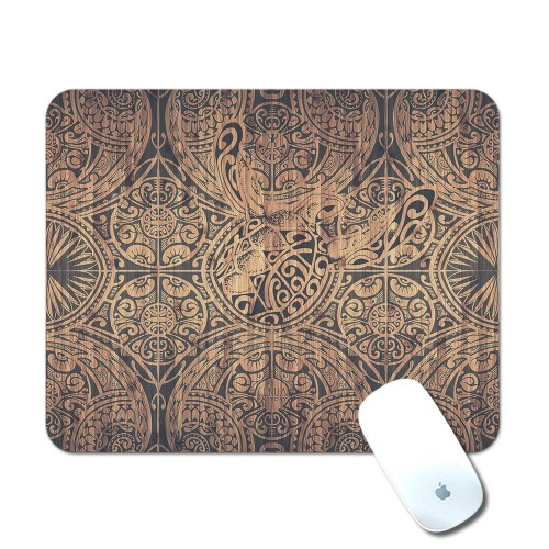 Tapis de Souris Tribal bamboo Turtle