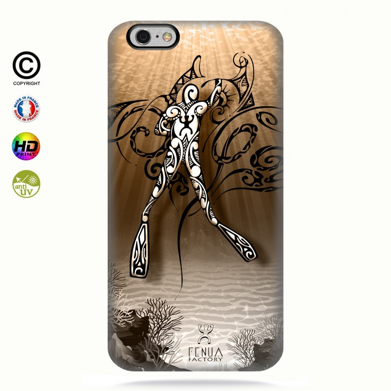 Coque iphone 6+/6s+Diving Under the Sea