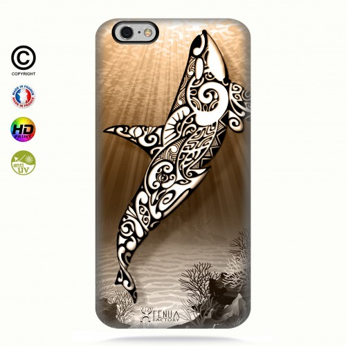 Coque iphone 6+/6s+ Orca Under the Sea