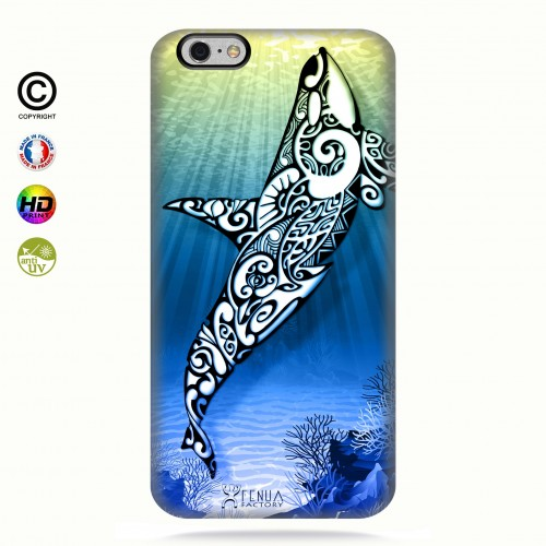 Coque iphone 6+6s+Orca Under the Sea