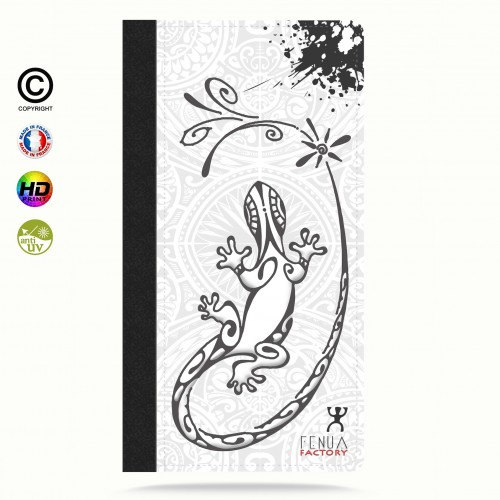 Coque iphone 6-6s Gecko B&W