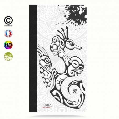 Coque iphone 6-6s hippocampe B&W