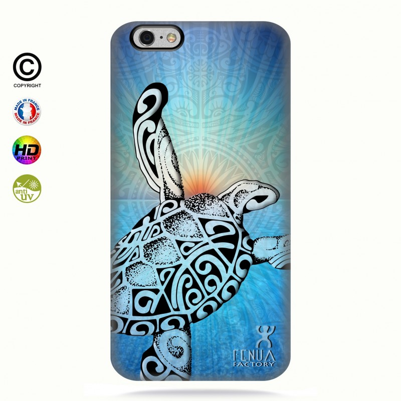 Coque iphone 6-6s Turtle Sunset