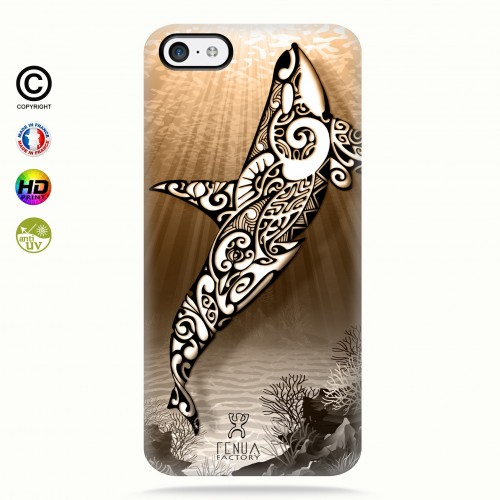 Coque iphone 5C Orca Under the Sea