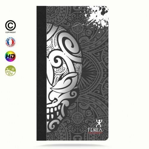 coque iphone 6-6s Mid B&W Skulls