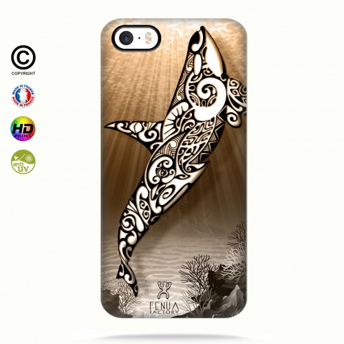 Coque iphone 5-5s-5se Orca Under the Sea