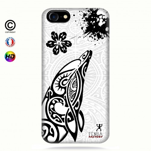 Coque iphone 7 Dauphin B&W