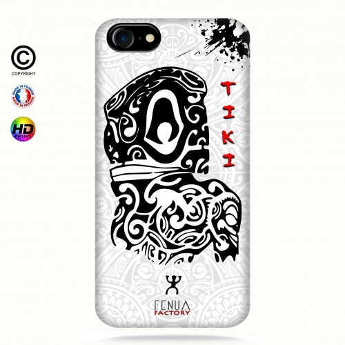 Coque iphone 7 Tiki B&W