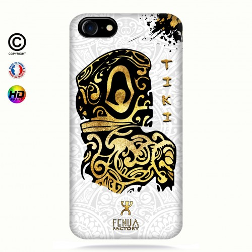 Coque iphone 7 Tiki Gold