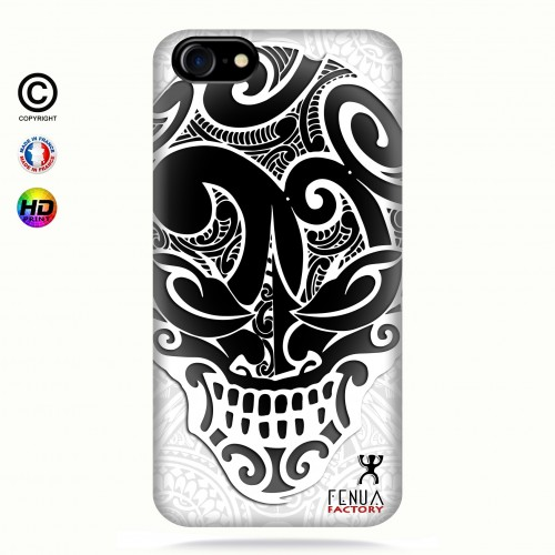 coque iphone 8 Big B&W Skulls