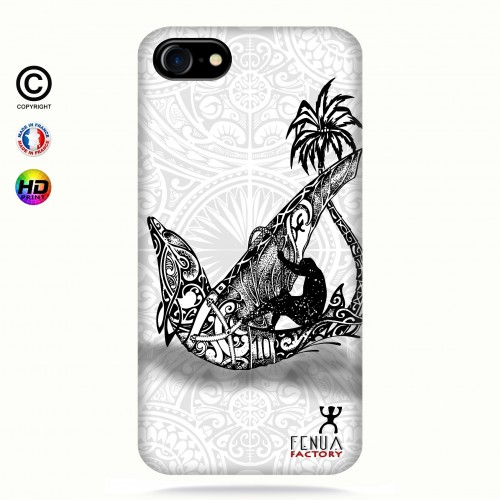 coque iphone 8 B&W Dolphin Sailboard