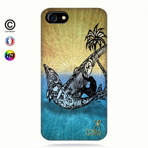 coque iphone 8 Dolphin Sailboard