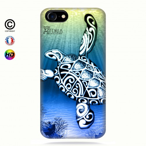 Coque iphone 8 Turtle Under the Sea