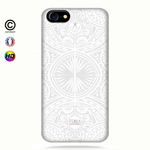 coque iphone 8 tribal frieze b&w +