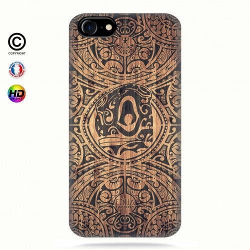 coque iphone 8 Tribal Tiki Bamboo
