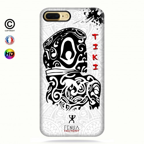 Coque iphone 8+ Tiki B&W