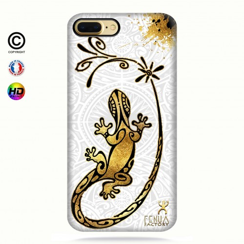 Coque iphone 8+ Gecko Gold