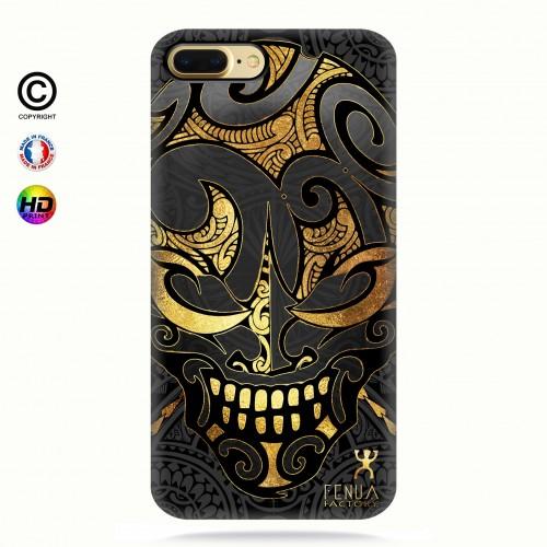 coque iphone 8+ Big Gold Skulls