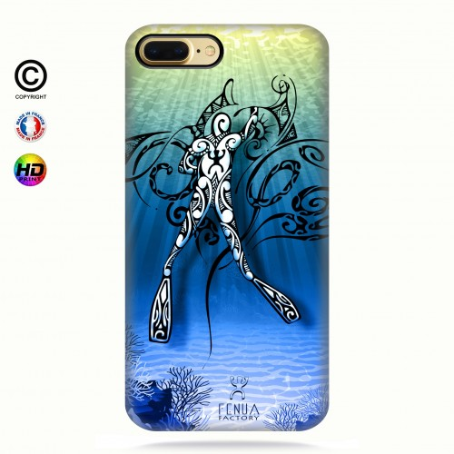 Coque iphone 8+ Diving Under the Sea