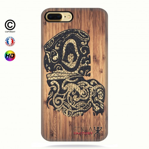coque iphone 8+ Tribal Bamboo Tiki