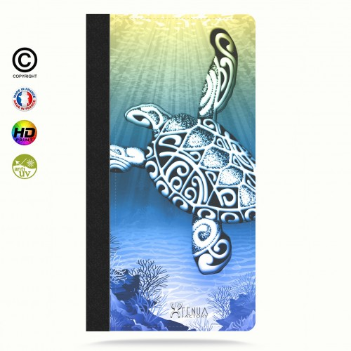 Coque iphone 7+ Turtle Under the Sea