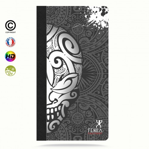 coque iphone 7+ Mid B&W Skulls