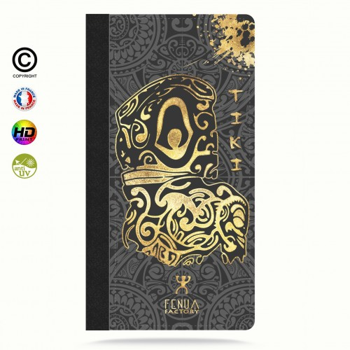 Coque iphone 8+ Tiki Gold