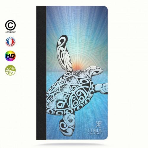 Coque iphone 8 Turtle Sunset