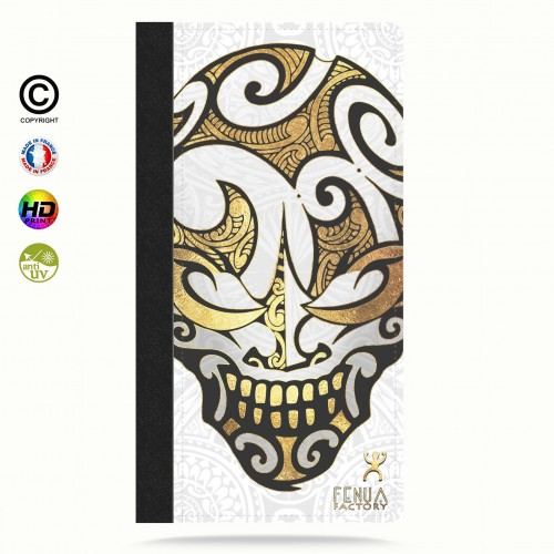 coque iphone 8 Big Gold Skulls