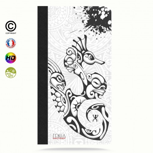 Coque iphone 8 hippocampe B&W