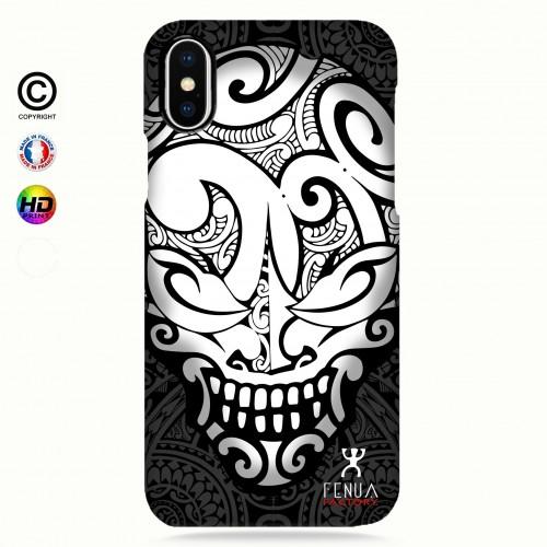 coque iphone 8+ Big B&W Skulls